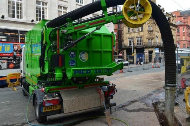 City Dino Suction excavator